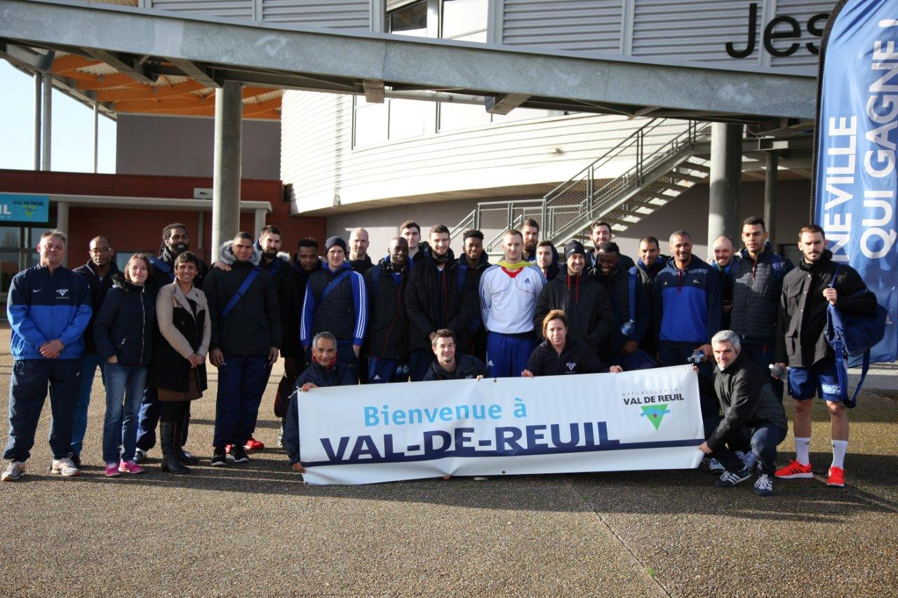 L'équipe de France de handball se prépare pour l'Euro à Val-de-Reuil