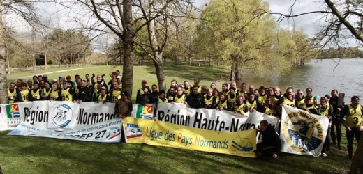 191 participants au Trophée de l'Eure et et au Championnat de Normandie de Nage en Eau Vive