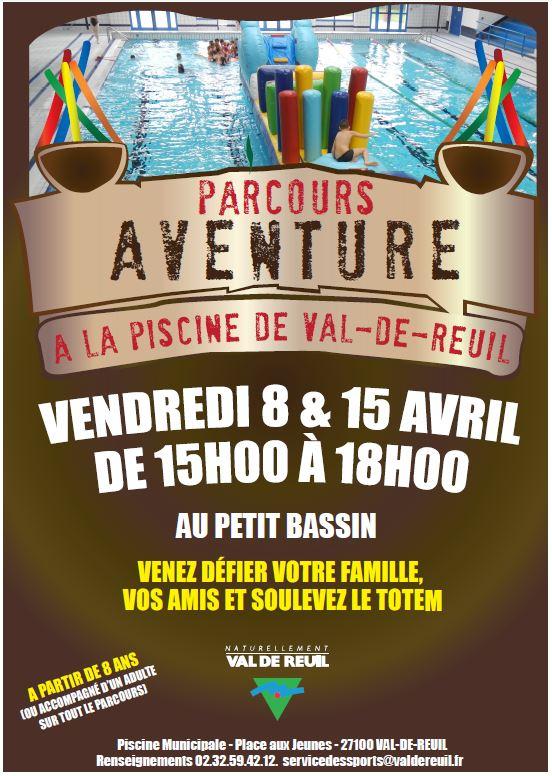 Parcours aventure Avril 2016