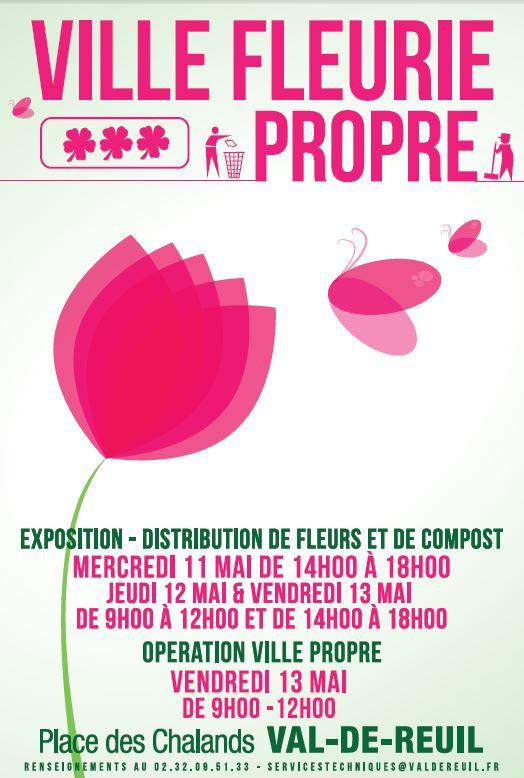 """Embellir la Ville avec """"Ville Fleurie, Ville Propre"""" !"""
