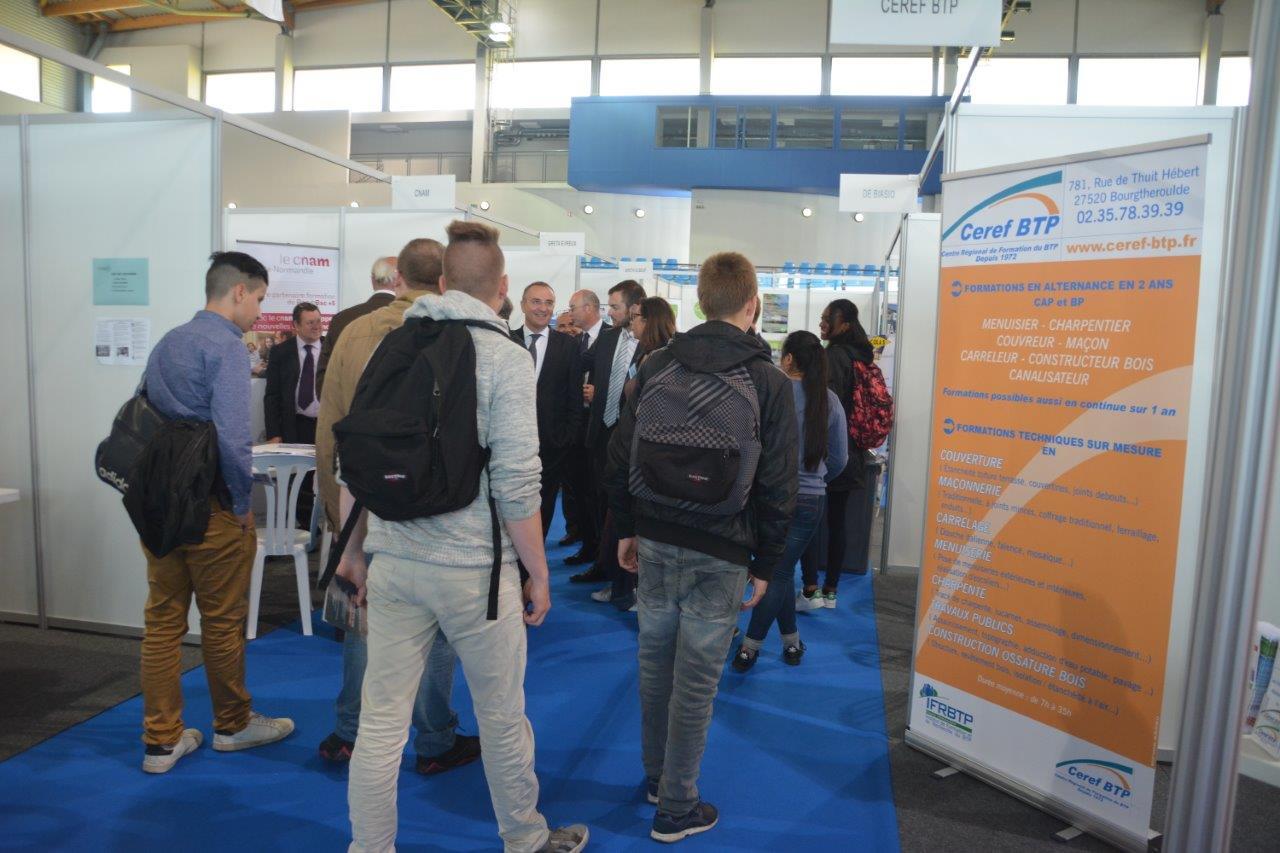Forum des Métiers : 1200 visiteurs à la rencontre de 100 entreprises et partenaires de l'emploi !