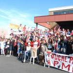 Rassemblement devant la Maison du Département jeudi 9 juin 2016