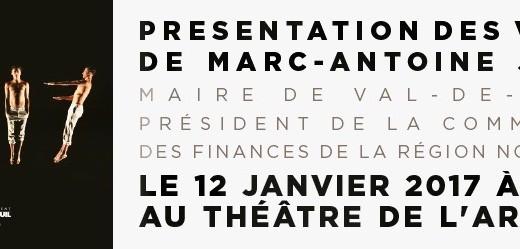 Les voeux de Marc-Antoine Jamet