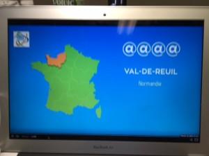 Val de Reuil décroche 4@