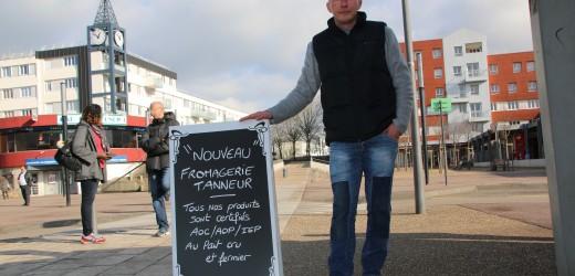 Nouveauté : un fromager sur le marché !
