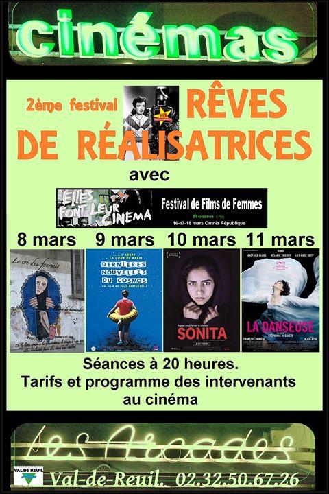 Le Festival Rêves de réalisatrices