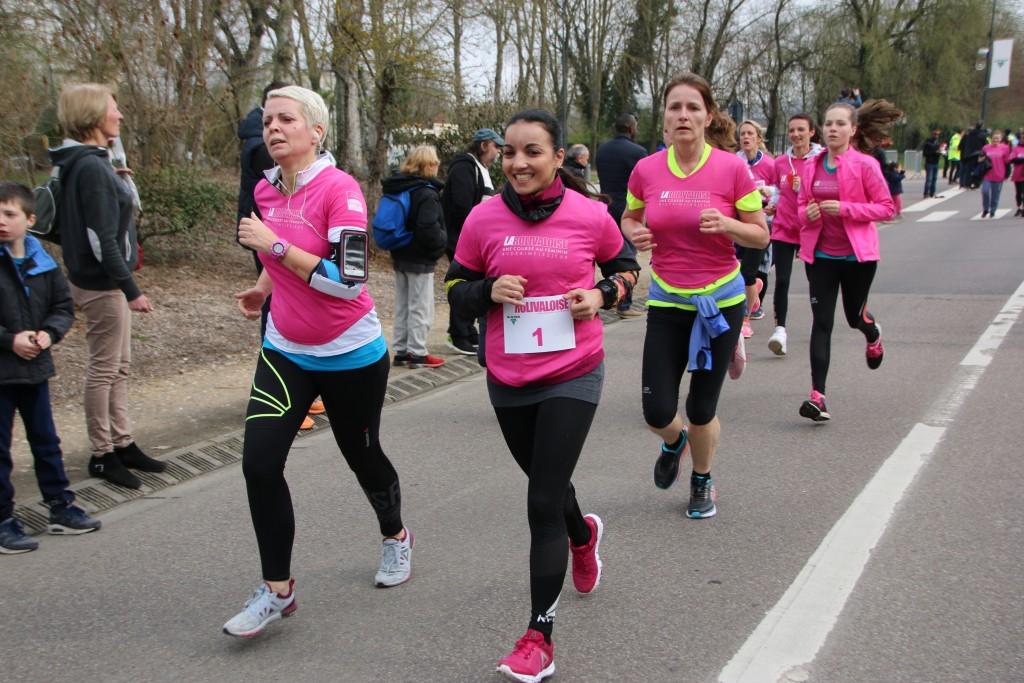 Sarah Ouhramoune dans la course