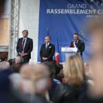 Marc-Antoine Jamet accueille Bernard Cazeneuve