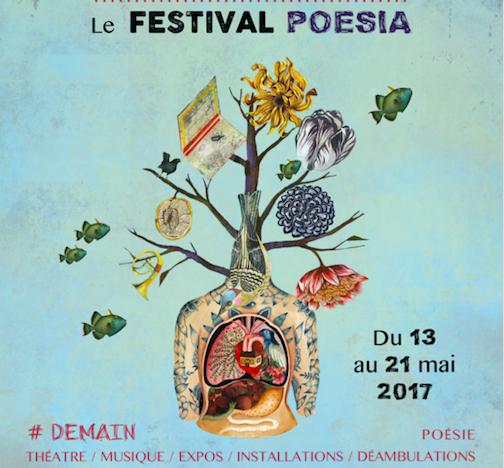 Poesia, festival 100 % poétique, entre en scène