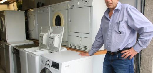 Emmanuel Cauchy, dépanneur et vendeur d'électroménager rénové