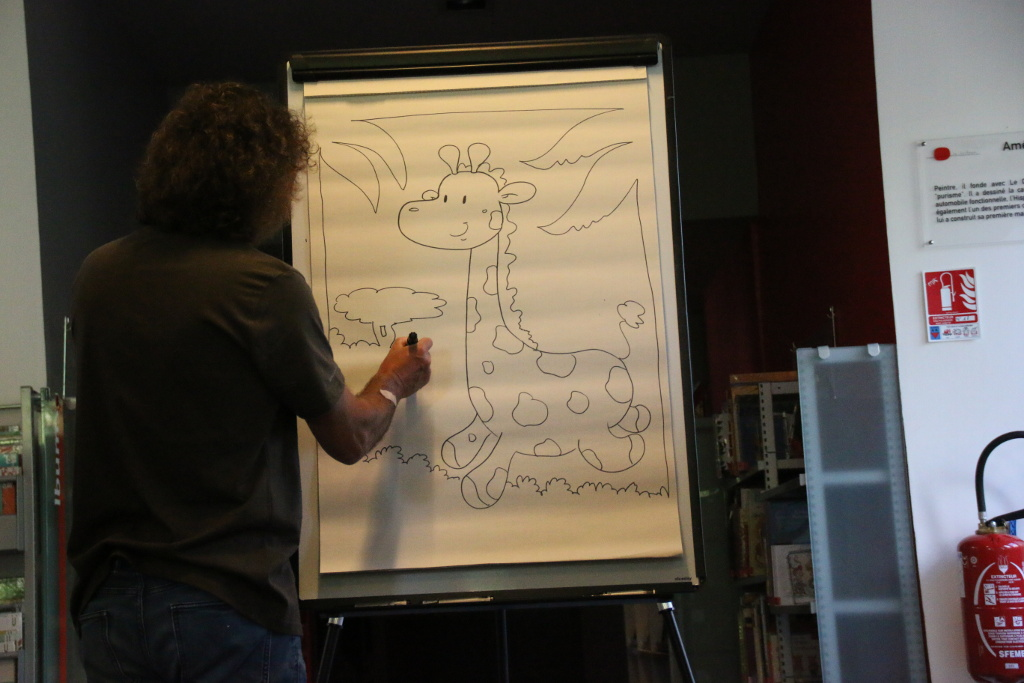 deux concours de dessin seront proposés aux enfants de 14h00 à 16h00