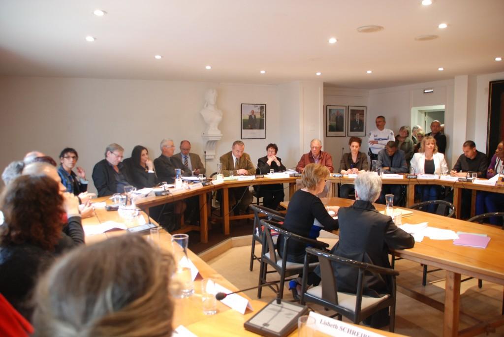 Réunion du Conseil Municipal de Val de Reuil