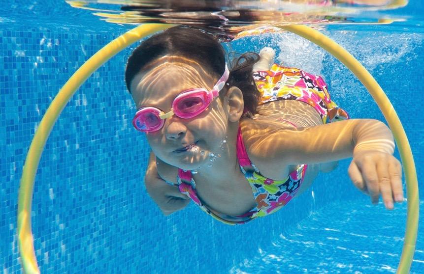 Des animations d'été à la piscine
