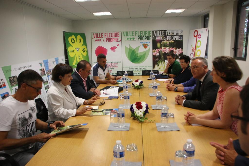 Rencontre avec le Maire Marc-Antoine Jamet