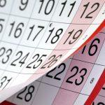 L'agenda des évènements