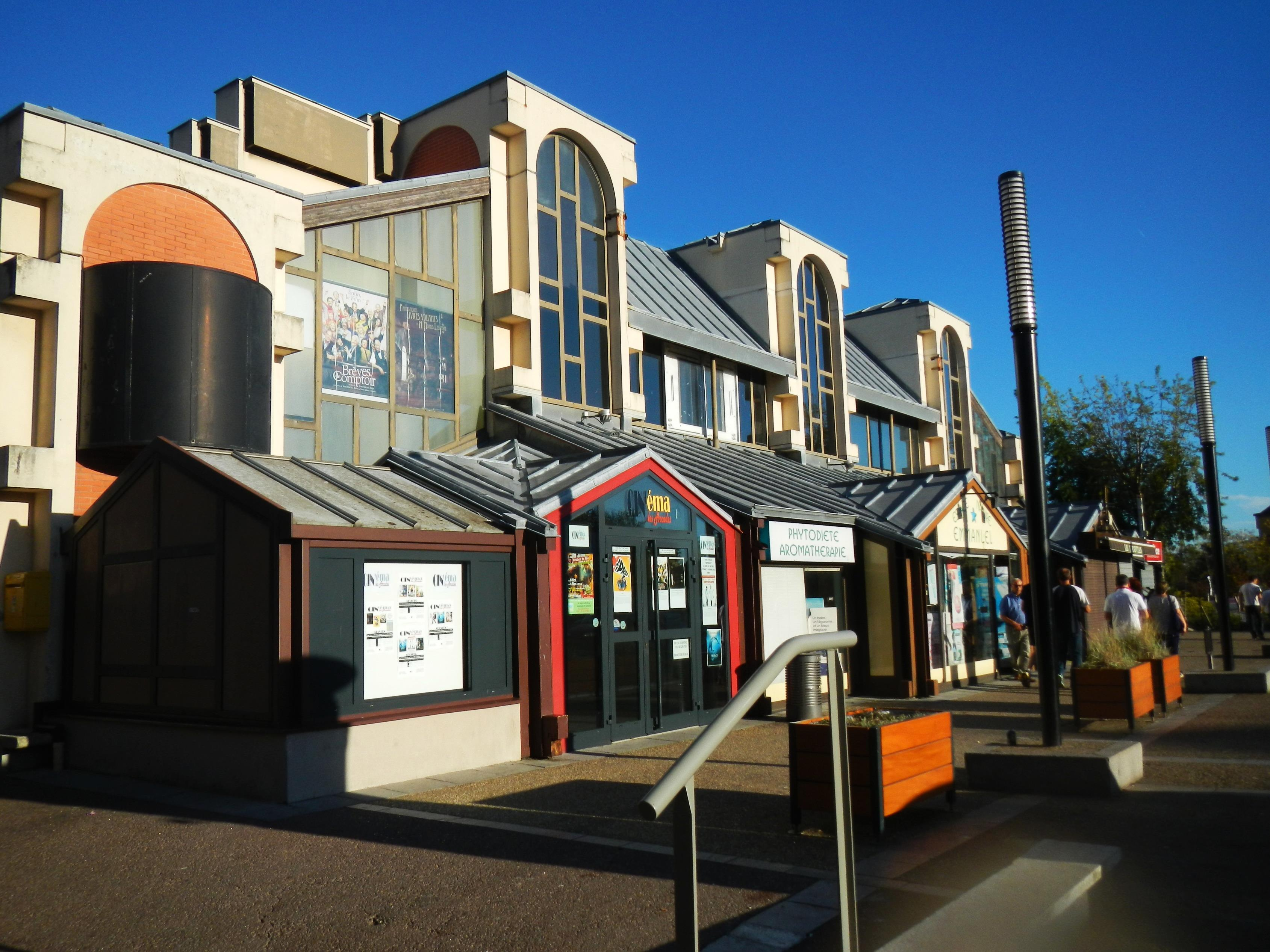 Le cinéma Les Arcades à Val de Reuil