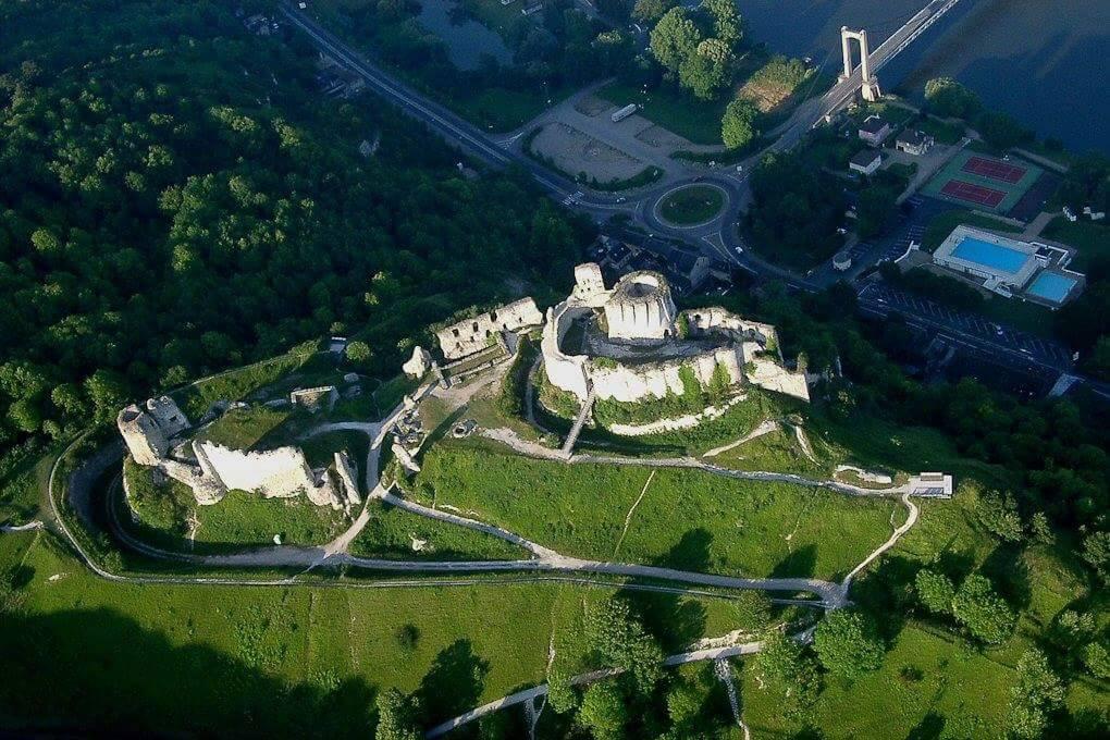 Trail des Rois Maudits - Départ à Château-Gaillard