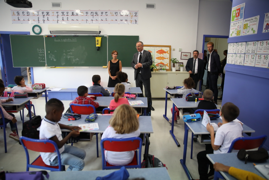 Les écoliers rolivalois reprennent cette année le chemin de l'école 4 jours et demi par semaine