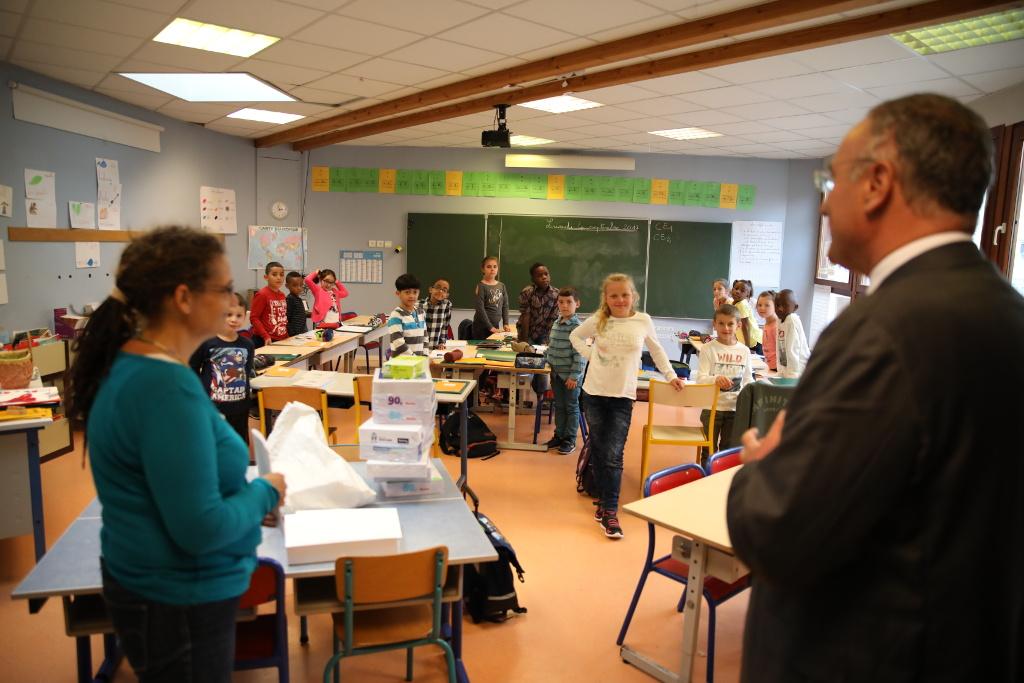 Rentrée scolaire:la Ville déploie les grands moyens pour plus de 2000 écoliers