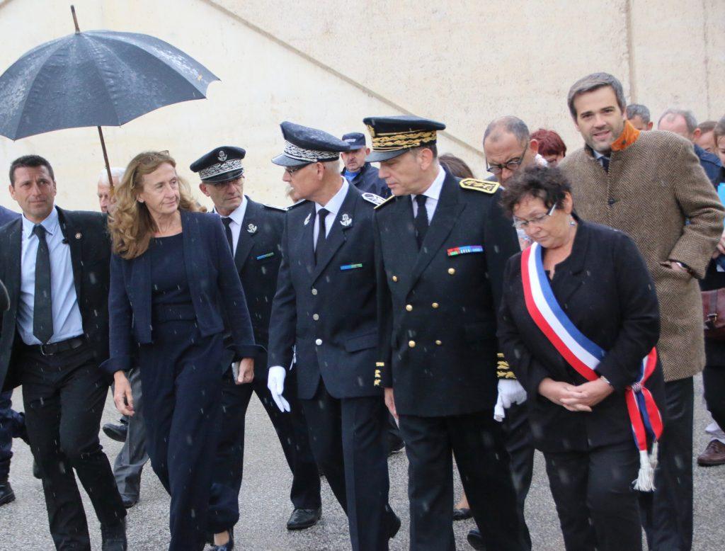 Visite de Nicole Belloubet Garde des Sceaux au Centre de détention des Vignettes