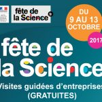 Fête de la Science - visites guidées d