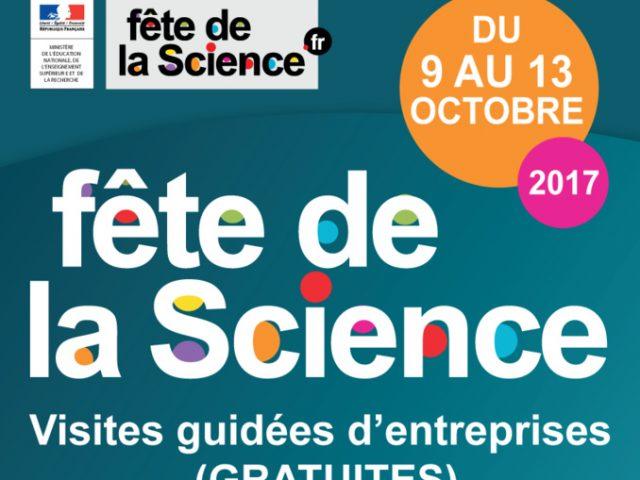Fête de la Science - visites guidées d