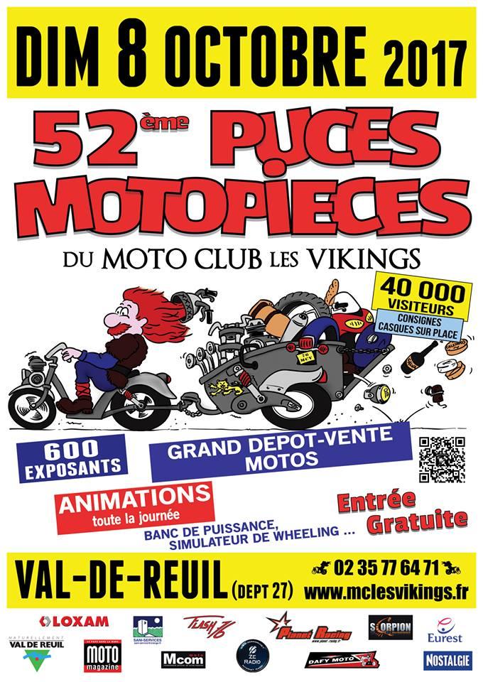 52èmes Puces Motos à Val de Reuil