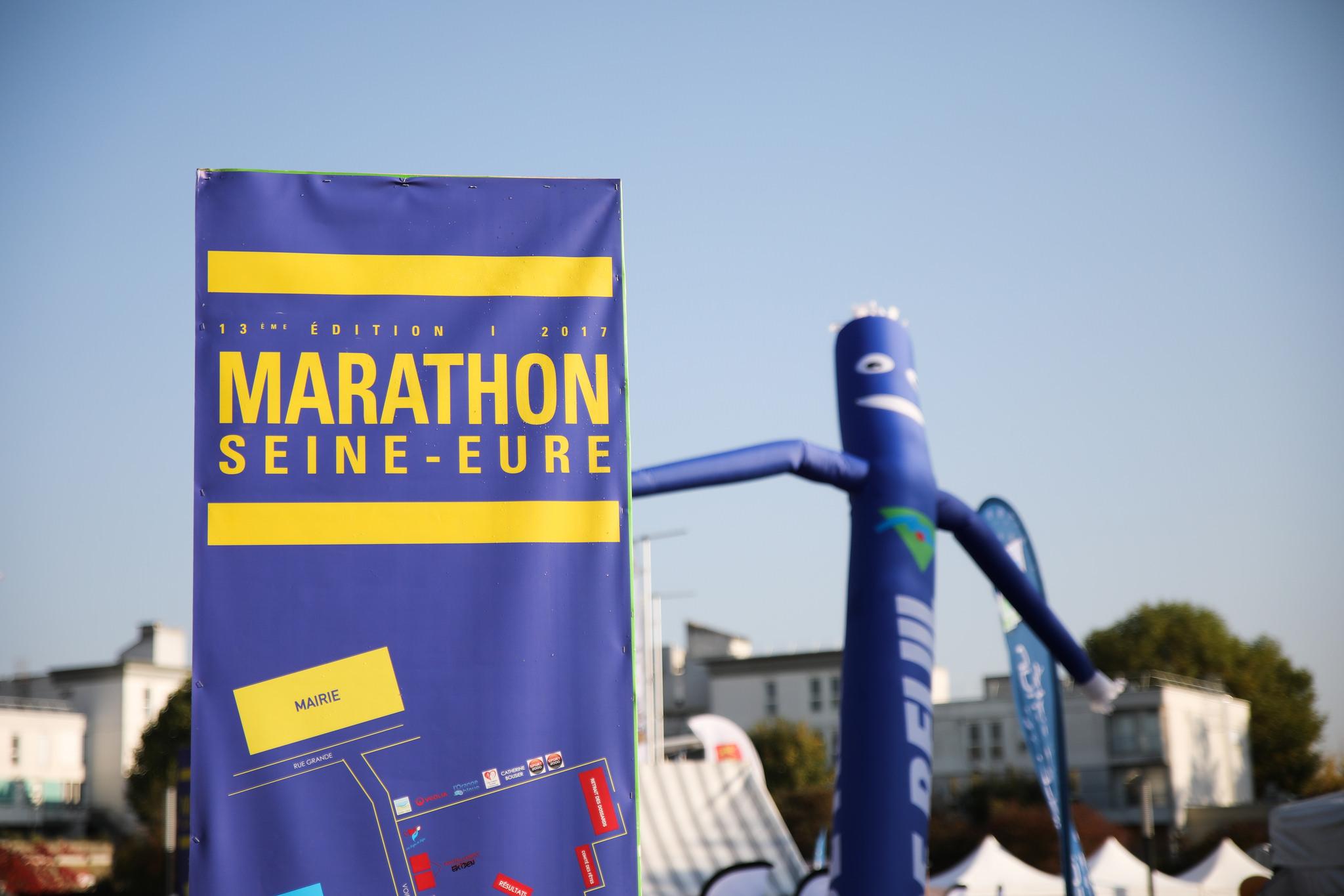 Le Marathon Seine-Eure du 15 Octobre 2017 : nos photos !