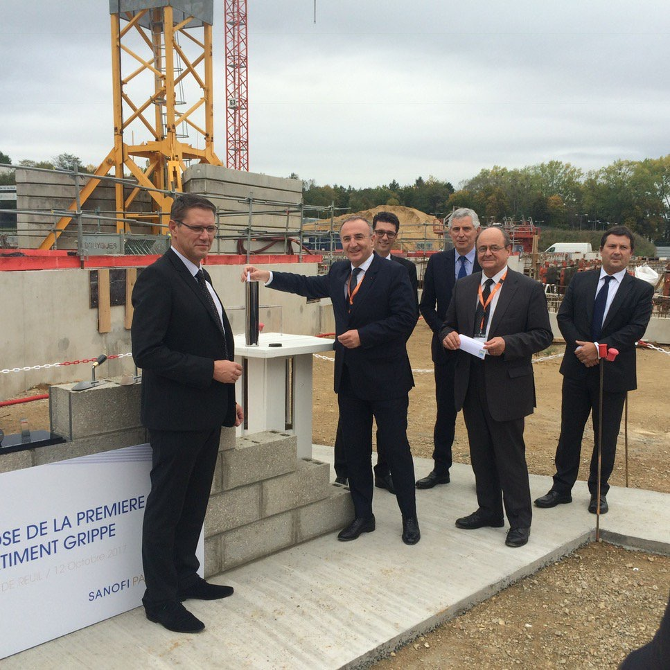 Sanofi investit 170 millions d'€ à Val-de-Reuil