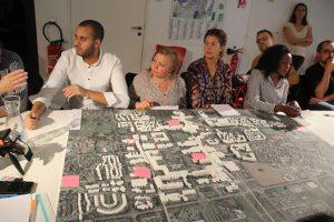 Rencontre avec le conseil citoyen pour la réalisation de l'étude urbaine