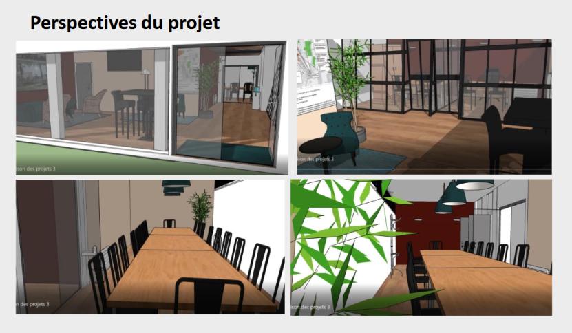 La future Maison des Projets
