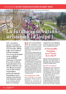 La rénovation urbaine à la loupe – Dossier