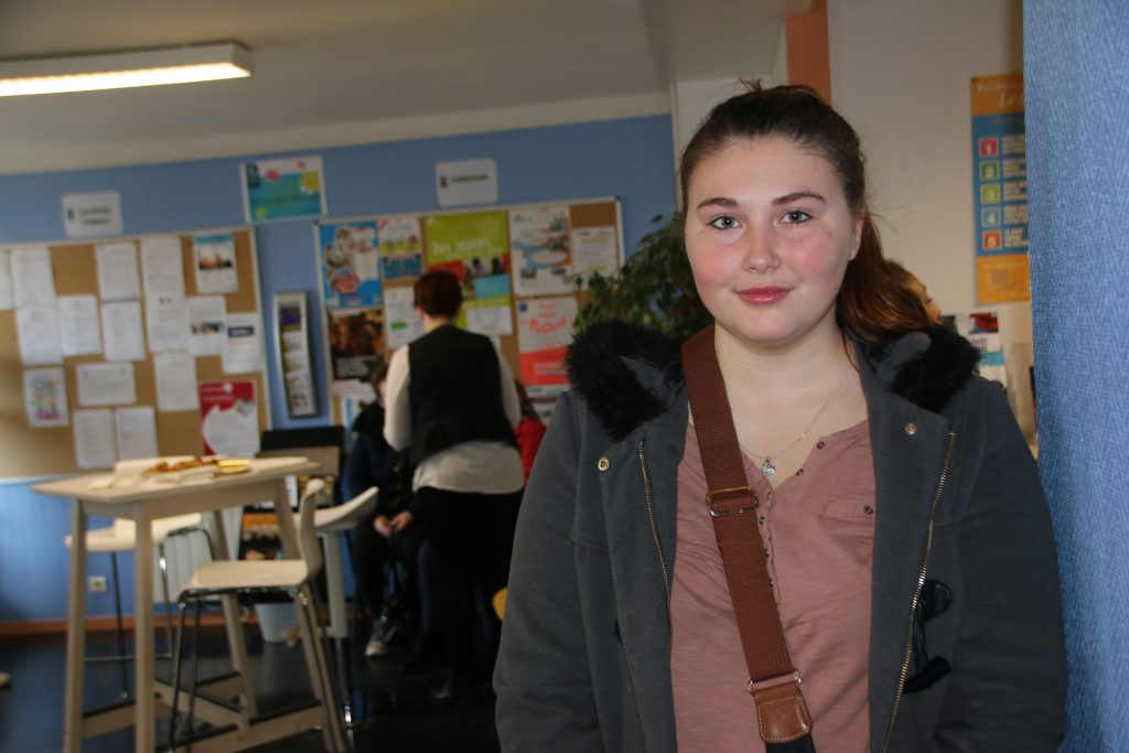 Déborah, 19 ans, a séduit les employeurs et décroché un contrat.