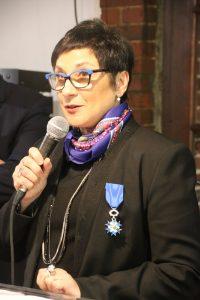 Colette Salamone a gravi les échelons au fil des années