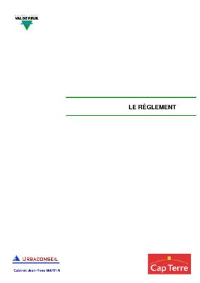 Règlement mis à jour le 1er juillet 2011
