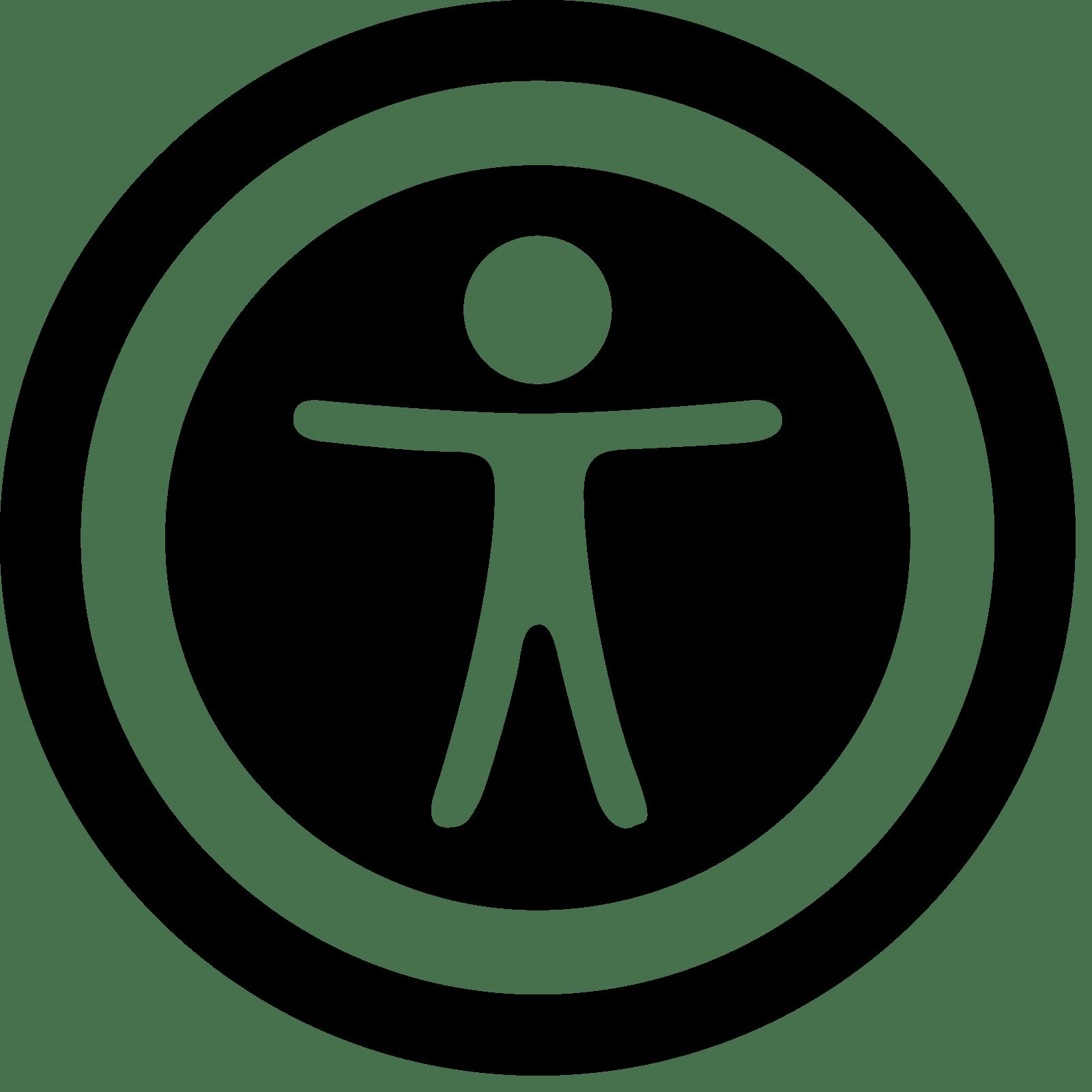 Icône accessibilité