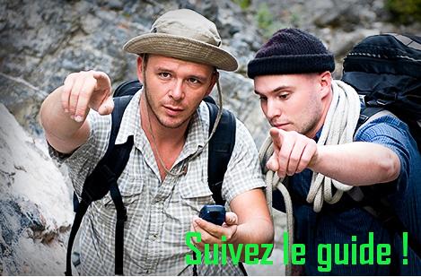 Suivez le guide !