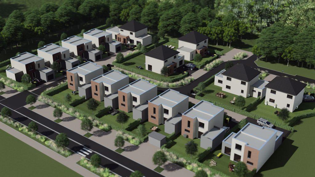 15 maisons voie Bachelière en construction au 1er trimestre 2018