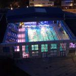 Le toit de la piscine sera ouvert vendredi et l'eau chauffée à 30°C