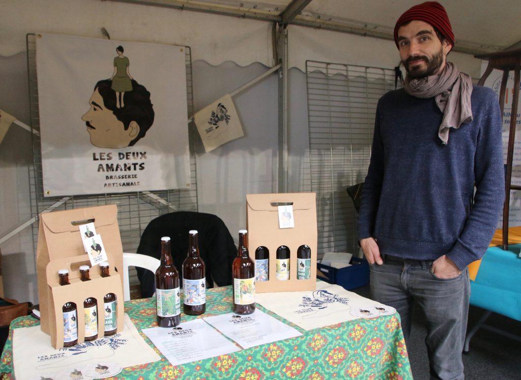 Bruno Couchaud fabrique sa bière bio à Val-de-Reuil
