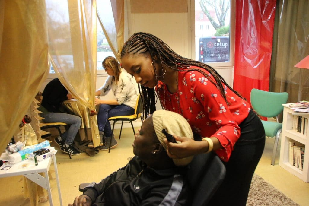 Les salons du 1, rue Pierre Première, transformés en institut de bien-être