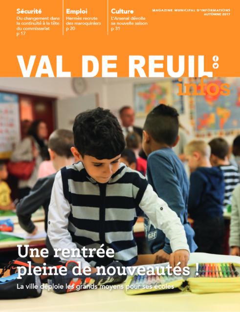 Val de Reuil_Infos N°4 Automne 2017