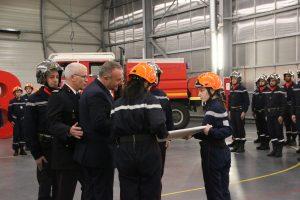 De nombreux sapeurs-pompiers à l'honneur