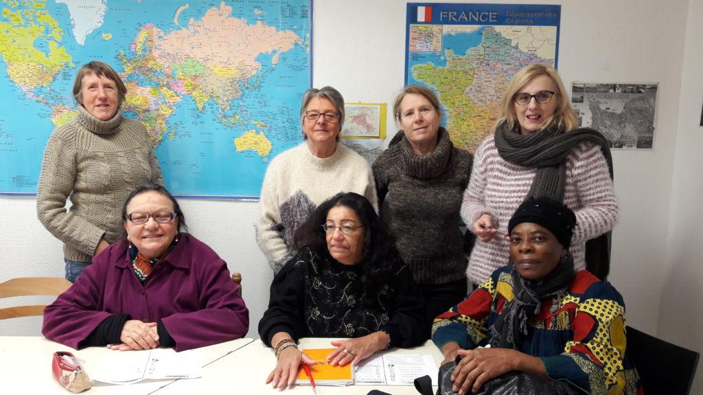 Atelier d'anglais au RERS