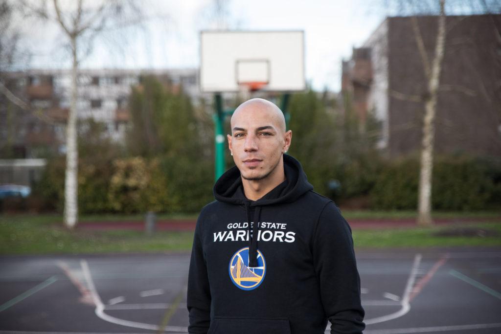 Recruté à La Réunion, Oualid Abdelhafid a percé dans l'univers du basket