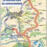 Le tracé contesté par la Ville de Val-de-Reuil