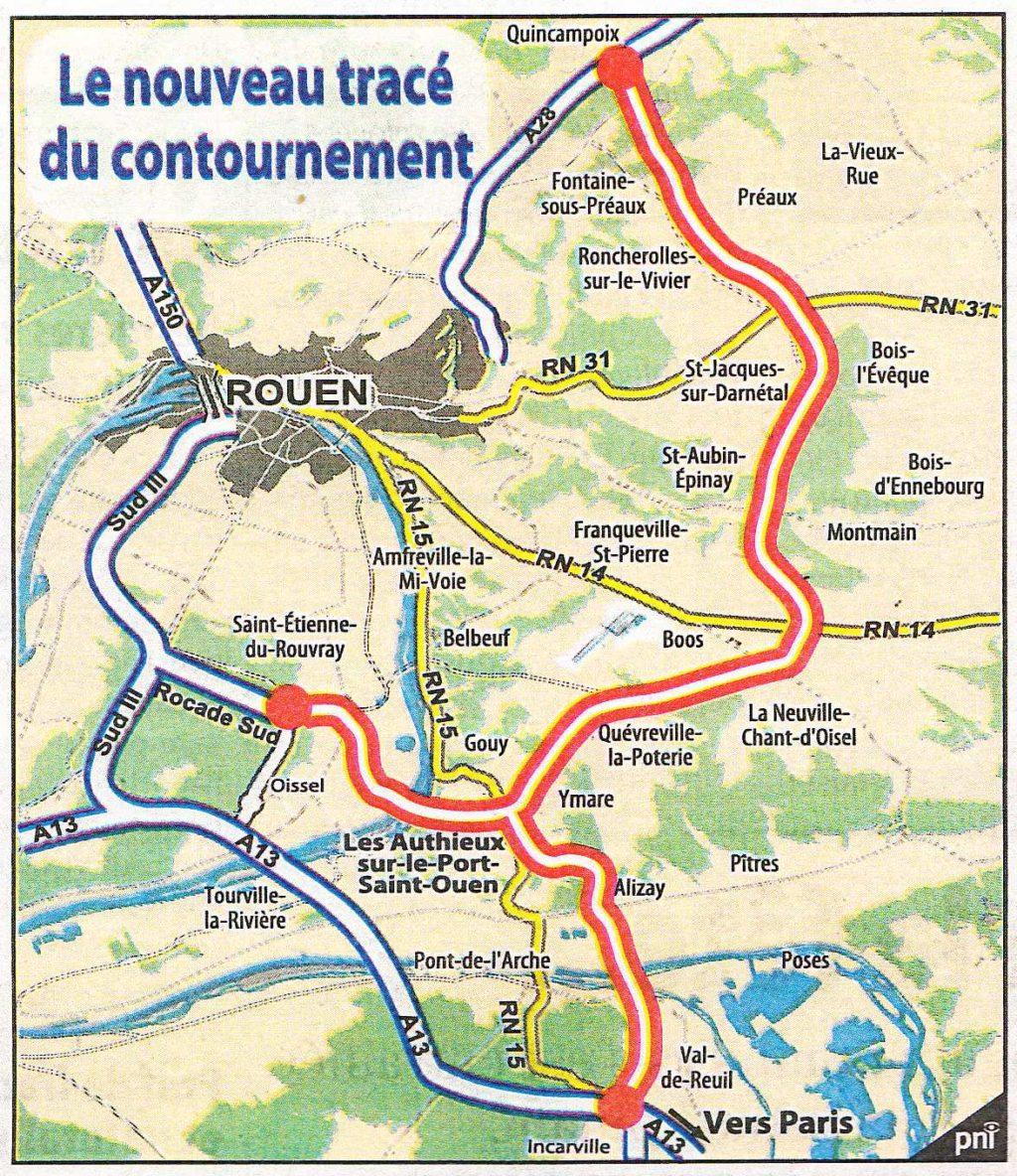 Contournement Est de Rouen: recours déposé devant le Conseil d'Etat