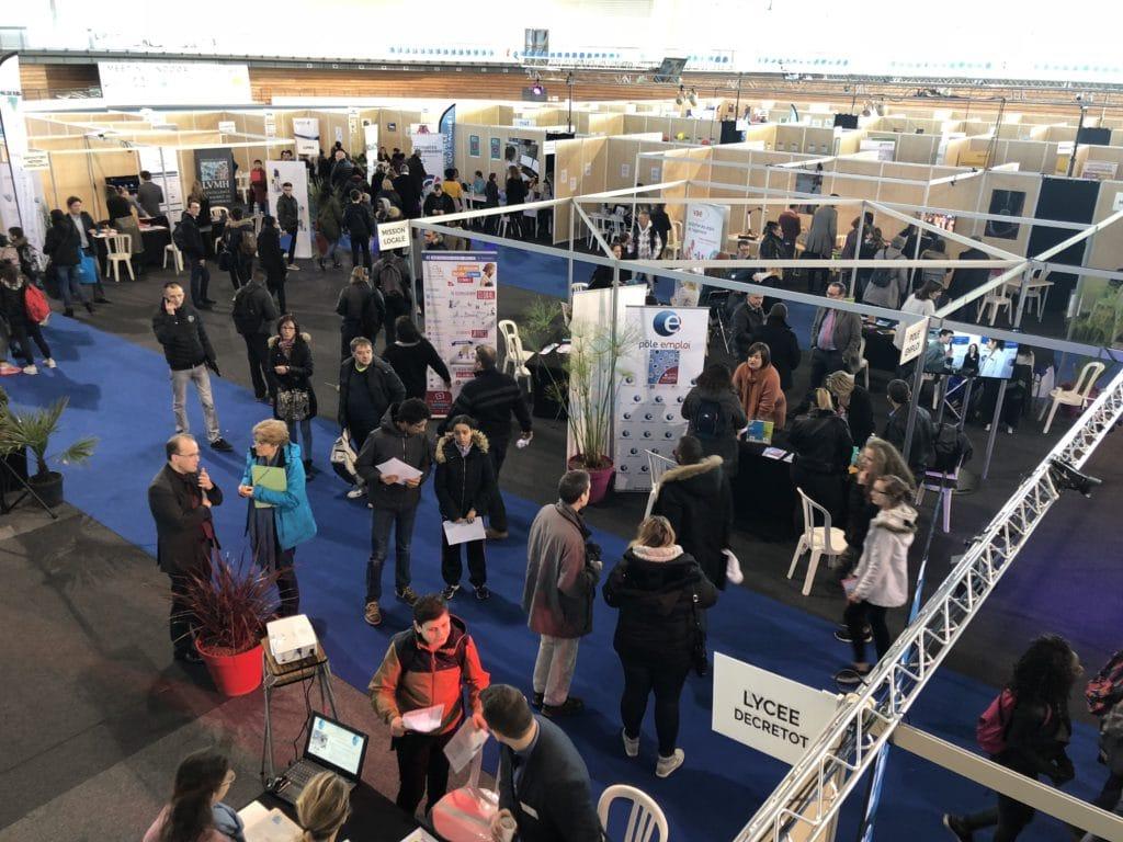 Le forum des métiers attire les foules
