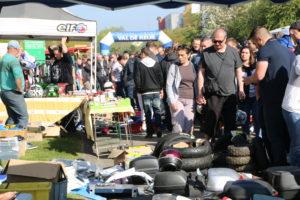 40 000 visiteurs se massent à Val-de-reuil à chaque édition des puces motos
