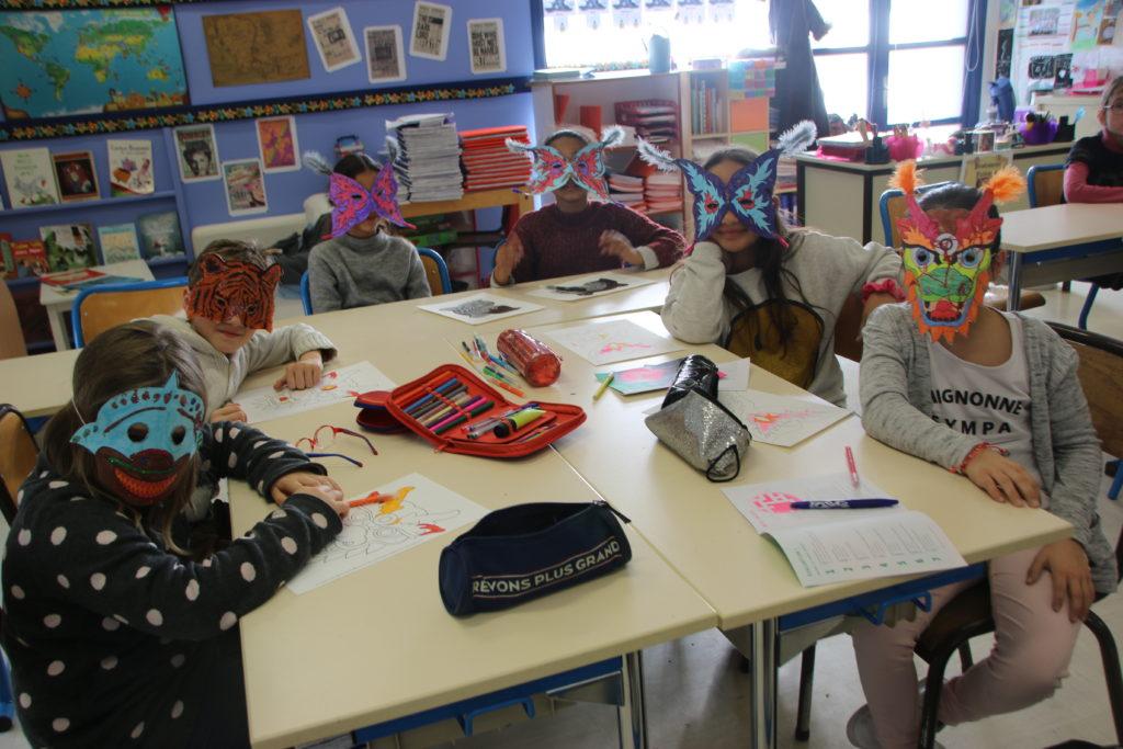 Les petits Rolivalois préparent Carnaval depuis plusieurs semaines